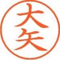 シヤチハタ ネーム9既製 XL-9 0533 大矢(10セット)