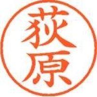シヤチハタ ネーム9既製 XL-9 0617 荻原(10セット)