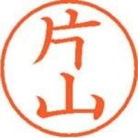 シヤチハタ ネーム9既製 XL-9 0709 片山(10セット)