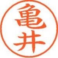 シヤチハタ ネーム9既製 XL-9 0777 亀井(10セット)