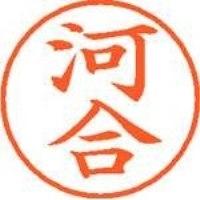 シヤチハタ ネーム9既製 XL-9 0789 河合(10セット)