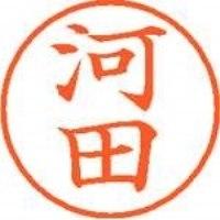 シヤチハタ ネーム9既製 XL-9 0796 河田(10セット)