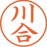 シヤチハタ ネーム9既製 XL-9 0804 川合(10セット)