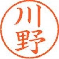 シヤチハタ ネーム9既製 XL-9 0828 川野(10セット)