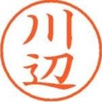 シヤチハタ ネーム9既製 XL-9 0832 川辺(10セット)