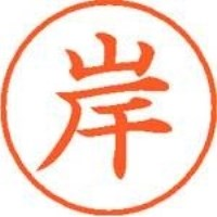 シヤチハタ ネーム9既製 XL-9 0890 岸(10セット)