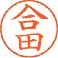 シヤチハタ ネーム9既製 XL-9 1137 合田(10セット)