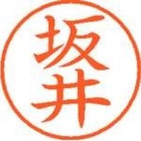 シヤチハタ ネーム9既製 XL-9 1159 坂井(10セット)