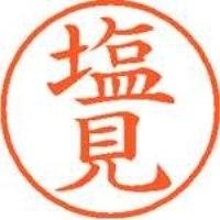 シヤチハタ ネーム9既製 XL-9 1263 塩見(10セット)