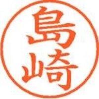 シヤチハタ ネーム9既製 XL-9 1278 島崎(10セット)