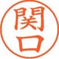 シヤチハタ ネーム9既製 XL-9 1344 関口(10セット)