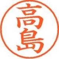 シヤチハタ ネーム9既製 XL-9 1366 高島(10セット)