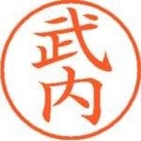 シヤチハタ ネーム9既製 XL-9 1407 武内(10セット)