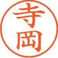 シヤチハタ ネーム9既製 XL-9 1485 寺岡(10セット)