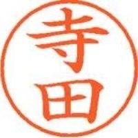 シヤチハタ ネーム9既製 XL-9 1488 寺田(10セット)