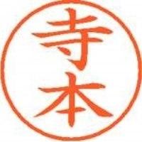 シヤチハタ ネーム9既製 XL-9 1491 寺本(10セット)