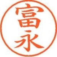 シヤチハタ ネーム9既製 XL-9 1499 富永(10セット)