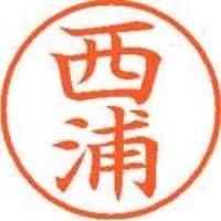 シヤチハタ ネーム9既製 XL-9 1578 西浦(10セット)