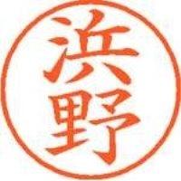 シヤチハタ ネーム9既製 XL-9 1653 浜野(10セット)