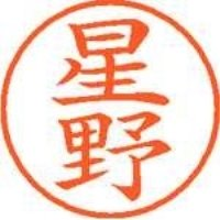 シヤチハタ ネーム9既製 XL-9 1780 星野(10セット)