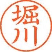 シヤチハタ ネーム9既製 XL-9 1791 堀川(10セット)