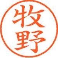 シヤチハタ ネーム9既製 XL-9 1807 牧野(10セット)