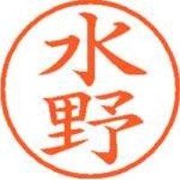 シヤチハタ ネーム9既製 XL-9 1867 水野(10セット)