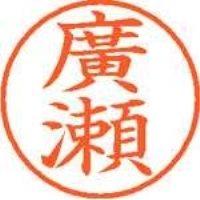 シヤチハタ ネーム9既製 XL-9 4073 ◆廣瀬(10セット)