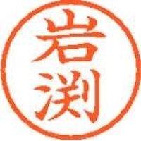 シヤチハタ ネーム6既製 XL-6 0326 岩渕(10セット)