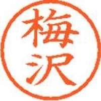 シヤチハタ ネーム6既製 XL-6 0394 梅沢(10セット)