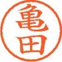 シヤチハタ ネーム6既製 XL-6 0779 亀田(10セット)