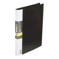 コレクト 名刺整理帳 K-615-BK A4L 500枚用 黒(10セット)