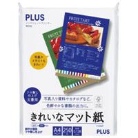 プラス きれいなマット紙 IT-225MP A4 250枚(10セット)