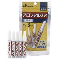 コニシ アロンアルファ業務用5本AA201 2gX5本(10セット)