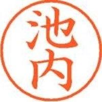 シヤチハタ ネーム9既製 XL-9 0155 池内(10セット)