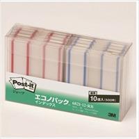 スリーエムジャパン Post-it 6821-12-RB ジョーブ インデックス(10セット)