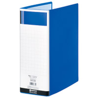 ジョインテックス パイプ式ファイル両開きSE青10冊D179J-10BL(10セット)