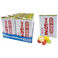 佐久間製菓 非常携帯用サクマ式缶ドロップ170g 10缶(10セット)