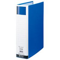 ジョインテックス パイプ式ファイル両開きSE青10冊D176J-10BL(10セット)