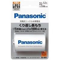 Panasonic ニッケル水素電池単1 BK-1MGC/1(10セット)