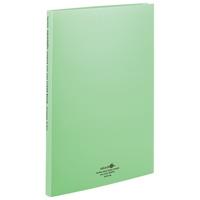 LIHITLAB 推奨 クリヤーブック交換式 N-5015 ※アウトレット品 120セット 黄緑