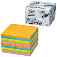 I mix 6544SS-NE for 3M Japan Post-it strong adhesion 新商品 Post-it強粘着ノート業務用 note 10セット 6544SS-NE混色 スリーエムジャパン ten duties OUTLET SALE sets