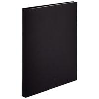 LIHITLAB クリヤーブック交換式 N-5016-24 A4S 黒(10セット)