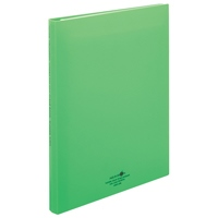 LIHITLAB クリヤーブック交換式 N-5016-6 A4S 黄緑(10セット)
