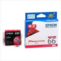 エプソン インクカートリッジ ICR66 レッド(10セット)