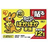 アイリスオーヤマ ぽかぽか家族貼るレギュラー60個入PKN-60HR(10セット)