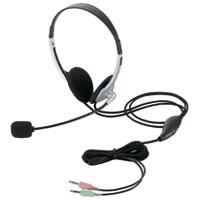 エレコム ヘッドセット両耳オーバーヘッド HS-HP22SV(10セット)
