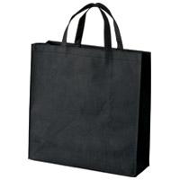 ジョインテックス 不織布手提げバッグ小10枚ブラックB450J-BK(10セット)