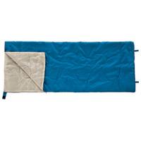 カワセ 封筒型シュラフ(寝袋)ブルー BDK-30B(10セット)
