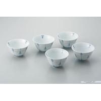 日光陶器店 反型煎茶碗 めばえ 5客セット(10セット)